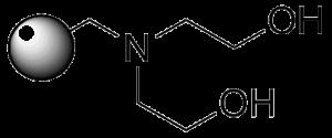 Diethanolamine Structure
